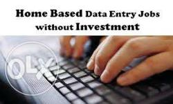 100% genuine jobs Home based typing job Free data entry