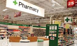 wanted Pharmacy in charge And Pharmacy in sales in a
