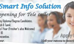 We have openings for TELE CALLERS at thanjavur. Working