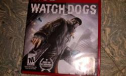 Watch Dogs Sony PS3 Game Case