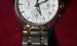 dual tone high quality chain branded tissot watch with