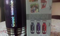Brand new water bottle of registered company. MRP 320