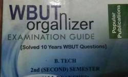 Wbut Organizer Examination Guide Book