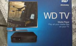 WD Media Player in excellent condition, convert your