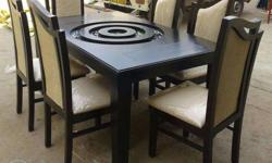 We are the MANUFACTURERS of DINING TABLES in teak woods