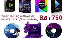 video Editing Software Bundle Pack - Full & Latest