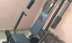 Weider Home Gym 8510 7 Months old In Good Condition