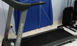 "Treadmill ""Welcare"" brand, with digital speed and"