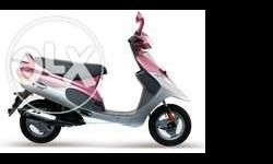 Well condition scooty pep+