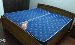 -Well maintained 6X6 feet Woodern Bed with Box for