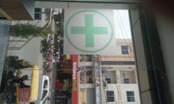 well running medical shop for rent /partnership. Good