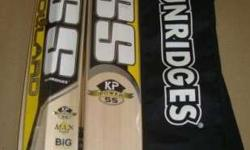 Well seasoned english willow cricket bats used by