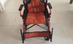 2 months old wheel chair with full warranty used only 2
