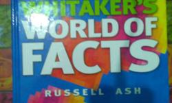 whitaker's world facts book for sale