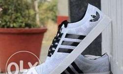 White-and-black Adidas Sneakers Adidas Neo 2 7a quality