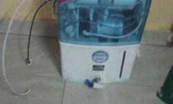 White And Blue Electric Water Purifier