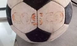 White Black Cosco Soccer Ball