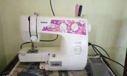 White Brother Portable Sewing Machine