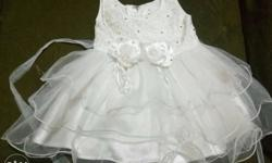 white frock size 16 for 12 to 18 months