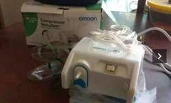 White Omron Nebulizer With Box