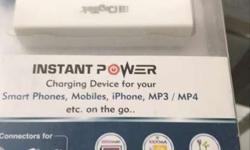 White Power Bank In Box