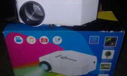 White Projector With Box