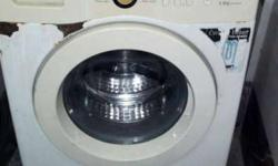 White Samsung Front Load Washer