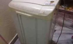 White Top Load Washing Machine