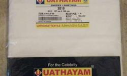 White Uathayam Sheets In Package
