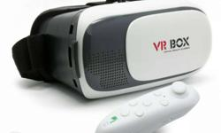 White VR Box With Controller