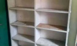 White Wooden Book Case