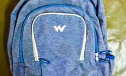 Wildcraft Blue colour backpack . 34 litres Only 2 times