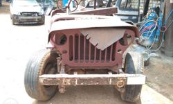 willys jeep vintage spares body parts, spare parts