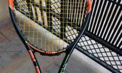 Wilson racket Black And Red Tennis Racket.urgent money