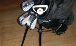 Wilson Junior with driver, hybrid, No. 7 & 9 and
