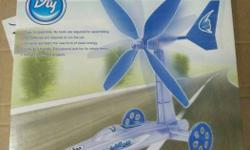 Wind Power Car .. gift for kidz ( eco friendly product