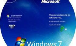 All series of windows 7 with licence