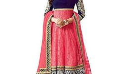 Anarkali Dress Embroidered Brasso Salwar Suit Dress