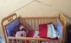 Baby cot is vry comfortable for babies up to 5 years.