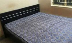 Queen size bed and mattress in good condition.1 year