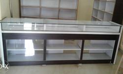 "Wooden counter to sell urgently usefull for shop 8""feet"