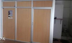 Wooden with aluminum with door for Cabin or room