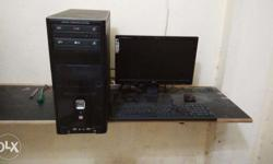 complete working computer system with lcd, ideal use