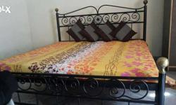 Light weight folding double bed.