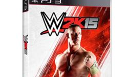 WWE2k15 new cd. Sealed. Seal cover not even touched.