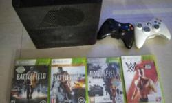 Xbox 360 250 GB internal hard disk with controller and