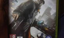 Xbox 360 Watch Dogs Game Case