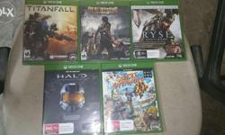 Xbox one games available for sale and exchange also