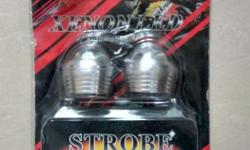 A set (2 piece) of Xenon led flasher (fresh piece) for