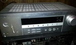 Yamaha dts amplifier with remote. Excellent output 5.1